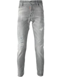 Men's Grey Skinny Jeans by DSQUARED2 | Men's Fashion