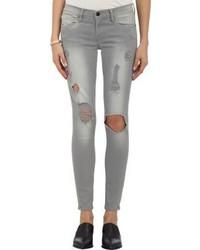 Frame Denim Harding Skinny Jeans Grey