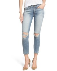 Rag & Bone Jean Destroyed Capri Skinny Jeans