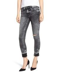 Hudson Jeans Nico Raw Hem Crop Super Skinny Jeans