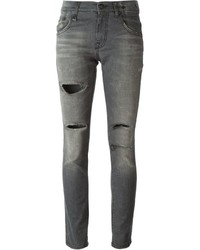 R 13 R13 Distressed Jeans