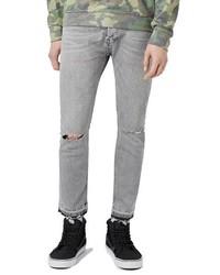 Ripped stretch skinny fit jeans medium 1150160
