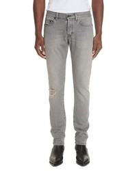 Saint Laurent Slim Leg Denim Jeans