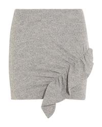 IRO Toman Ruffled Wool Mini Skirt