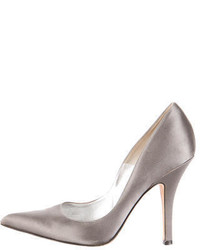 Michael Kors Michl Kors Satin Pointed Toe Pumps
