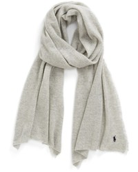 Cashmere blend scarf medium 2407