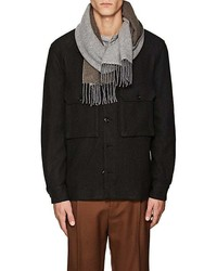 Barneys New York Cashmere Double Faced Scarf