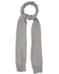 Maison Margiela Cashmere Rib Knit Scarf