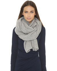 Cashmere travel wrap scarf medium 716646