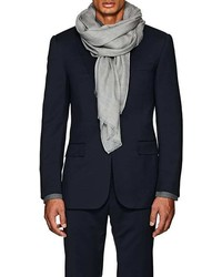 Barneys New York Cashmere Twill Scarf