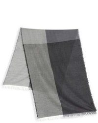 Saks Fifth Avenue Collection Colorblock Wool Scarf