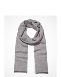 Express Reversible Merino Wool Scarf Gray