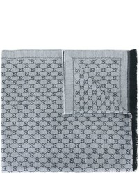 Gg jacquard scarf medium 640202