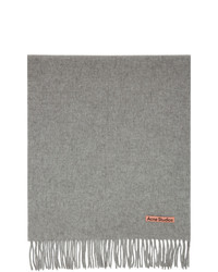 Acne Studios Grey Nr Canada New Scarf