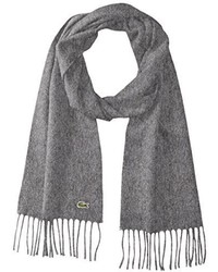 Lacoste Woolcashmere Twill Scarf