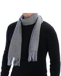 Johnstons of Elgin Lamora Pinstripe Scarf Merino Wool Angora