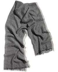 Lucky Brand Grey Wool Scarf