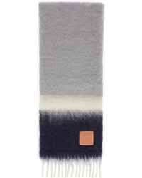 Loewe Multicolor Mohair Stripes Scarf