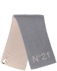 No21 logo printed scarf medium 4977955