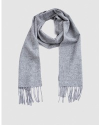 Norse Projects Norse X Johnstons Lambswool Scarf In Ash Grey