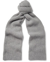 Ribbed cashmere scarf medium 4353049