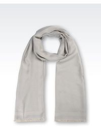 Accessories Scarf In Modalviscose With Embroidered Logo