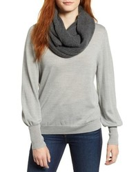 aeb09111c Women's Grey Scarves by Halogen | Women's Fashion | Lookastic.com