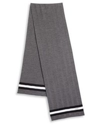 Bally Striped Wool Scarf