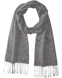 Lacoste Wool Cashmere Twill Scarf
