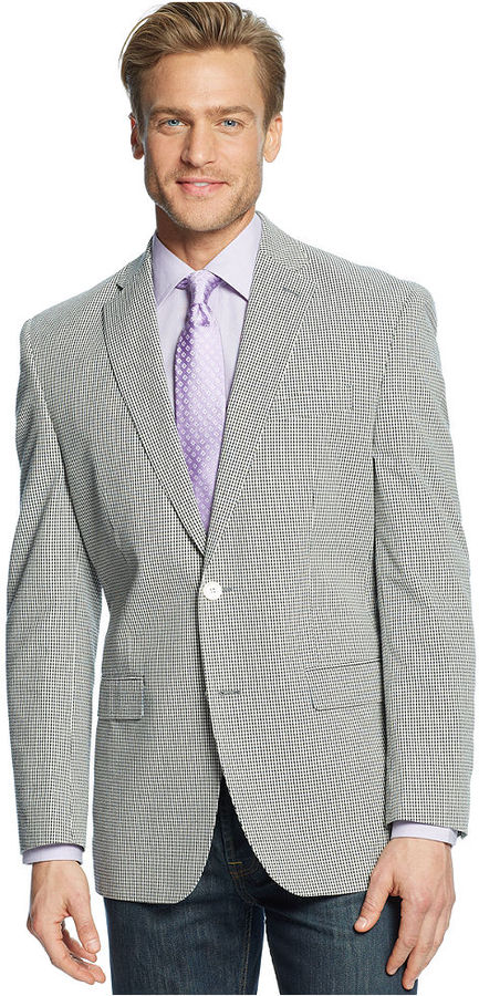 Lauren Ralph Lauren Sport Coat Seersucker Check | Where to buy ...