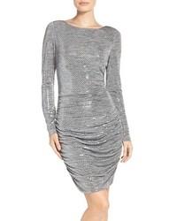 Vince Camuto Sequin Body Con Dress