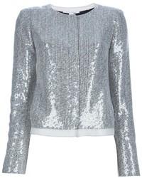 Diane von furstenberg tamali sequin jacket medium 28297