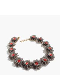 J.Crew Lucite Petal Necklace