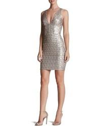 Peyton sequin body con dress medium 599705