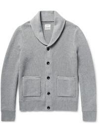 rag & bone Avery Shawl Collar Textured Knit Cotton Cardigan
