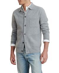 Alex Mill Boiled Wool Work Sweater Jacket