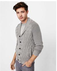 Express Gart Dyed Shawl Cardigan