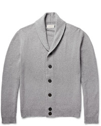 John Smedley Patterson Shawl Collar Merino Wool And Cashmere Blend Cardigan