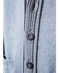 Mango Shawl Collar Cotton Cardigan