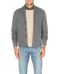 Polo Ralph Lauren Micro Pattern Cotton Blend Cardigan