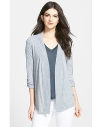 Open front jersey cardigan medium 518667