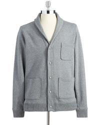 Perry Ellis Ripa Shawl Collar Cardigan Sweater