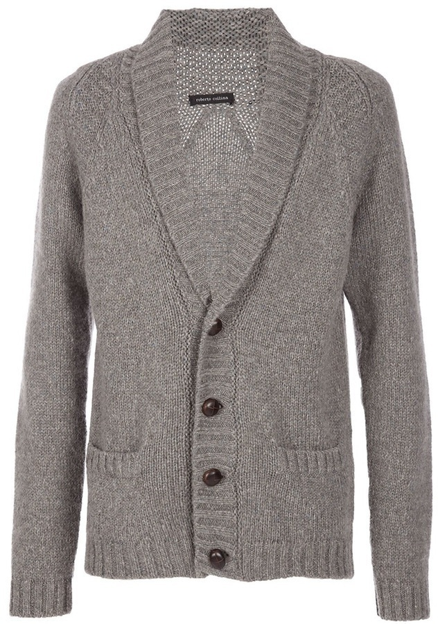 Roberto Collina Shawl Collar Cardigan