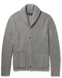 Polo Ralph Lauren Shawl Collar Ribbed Cashmere Cardigan