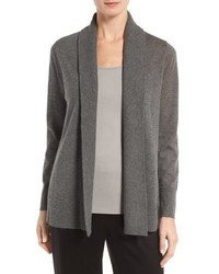 Shawl collar tencel blend cardigan medium 951921