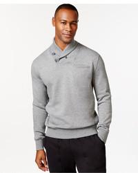 Sean John Alpha Shawl Collar Sweatshirt Only At Macys