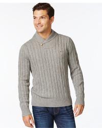 Tommy Hilfiger Intercontinental Shawl Sweater A Macys
