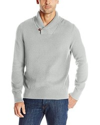 Nautica Seed Stitch Shawl Collar Sweater