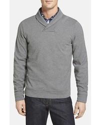 Nordstrom Piqu Shawl Collar Pullover