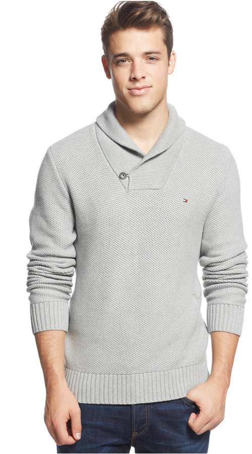 Tommy Hilfiger Portland Shawl Collar Sweater | Where to buy & how ...